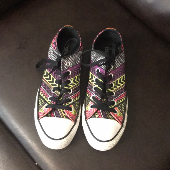 2569f1bc668e Converse Shoes - Converse All stars Aztec printed shoes